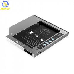 Caddy bay cho Laptop ORICO M95SS lắp cho máy có khay DVD 9.5mm