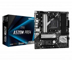 Mainboard ASROCK A520M Pro4