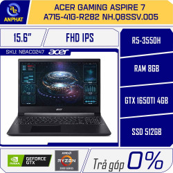 Laptop Acer Gaming Aspire 7 A715-41G-R282 NH.Q8SSV.005