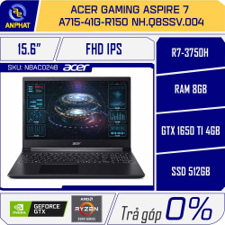 Laptop Acer Gaming Aspire 7 A715-41G-R150 NH.Q8SSV.004
