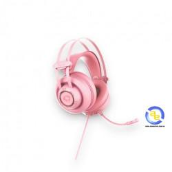 Tai nghe AKKO AD701 USB 7.1 Pink