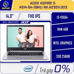 Laptop Acer Aspire 5 A514-54-39KU NX.A23SV.003