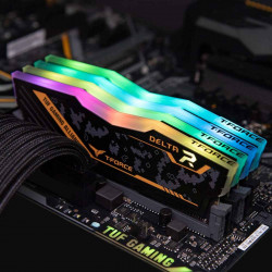 Ram TEAMGROUP DELTA TUF Gaming Alliance RGB 8GB (1x8GB) DDR4 3200MHz