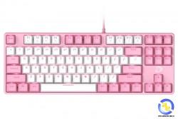 Bàn phím cơ DareU EK87 Pink White Red switch