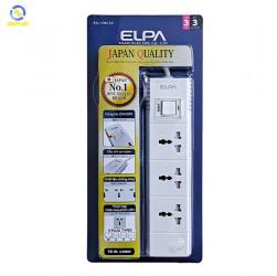 Ổ cắm điện ELPA ESL-VNC33 3 ổ điện, 1 công tắc, 3m