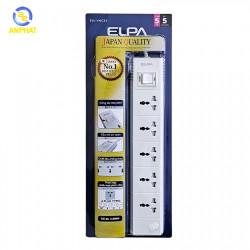 Ổ cắm điện ELPA ESL-VNC55 5 ổ điện, 1 công tắc, 5m