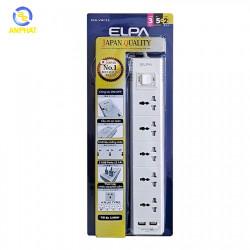 Ổ cắm điện ELPA ESU-VNC53 5 ổ điện, 1 công tắc, 3m, 2xUSB