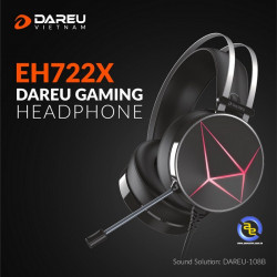 Tai nghe DareU EH722X 7.1 Black