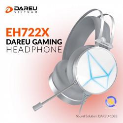 Tai nghe DareU EH722X 7.1 White