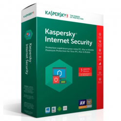 Phần mềm diệt virus Kaspersky Internet Security KIS 3 User  – (có đĩa + vỏ hộp)  bản 2020