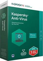 Phần mềm diệt virus Kaspersky Antivirus  (KAV) - 3 User