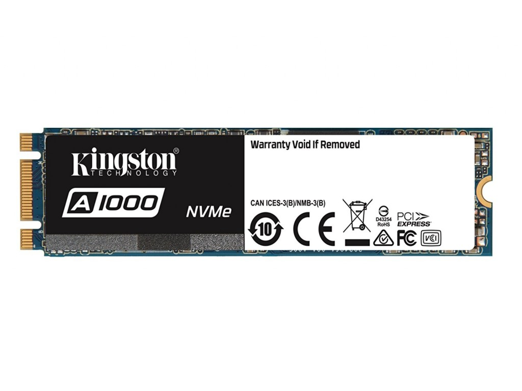 Ổ cứng SSD Kingston A1000 240GB NVMe M.2 2280 PCIe Gen 3.0 x2