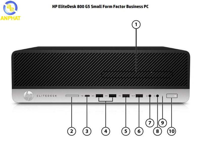 Máy tính đồng bộ HP EliteDesk 800 G5 7YY03PA Small Form Factor