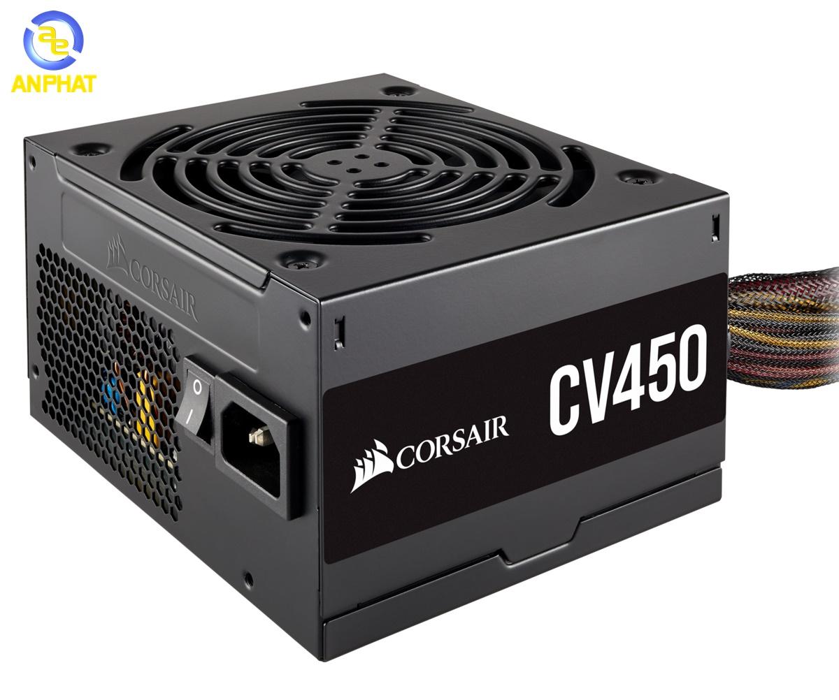 Nguồn máy tính Corsair CV450 80 Plus Bronze (CP-9020209)