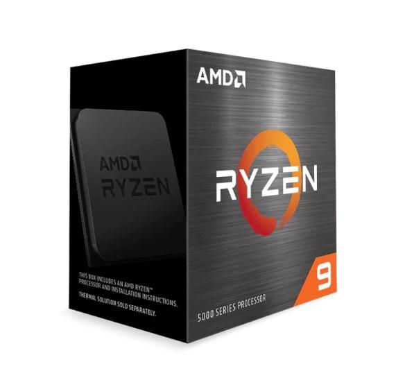 CPU AMD Ryzen 9 5900X (3.7 GHz Upto 4.8GHz / 70MB / 12 Cores, 24 Threads / 105W / Socket AM4)
