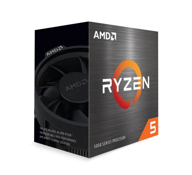 CPU AMD Ryzen 7 5800X (3.7 GHz Upto 4.6GHz / 35MB / 6 Cores, 12 Threads / 65W / Socket AM4)
