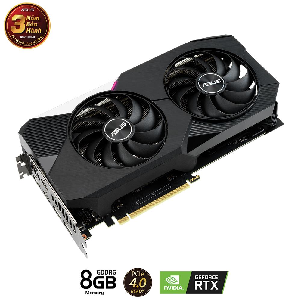 VGA ASUS Dual GeForce RTX 3060 Ti (DUAL-RTX3060TI-8G)